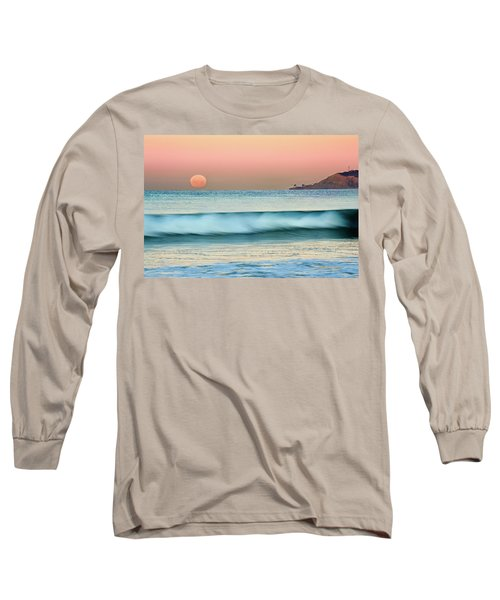 Point Loma Moonset Long Sleeve T-Shirt