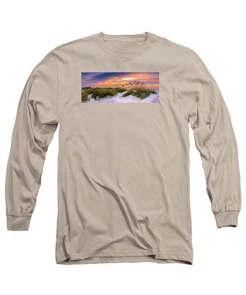 Point Sunrise Long Sleeve T-Shirt by David Smith