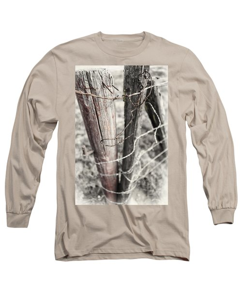 Points And Posts Long Sleeve T-Shirt by Caitlyn  Grasso