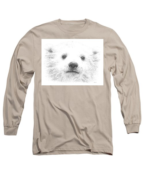 Polar Bear Cub Long Sleeve T-Shirt