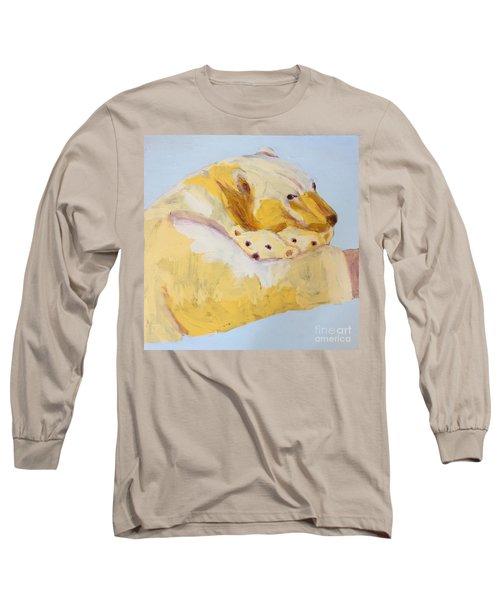 Polar Bear Long Sleeve T-Shirt by Donald J Ryker III