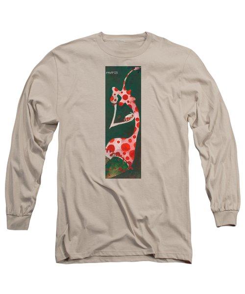 Polka Dots Long Sleeve T-Shirt by Maya Manolova