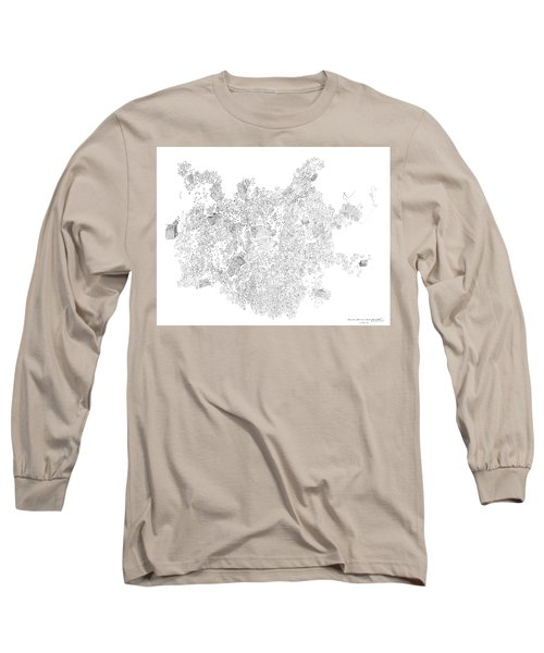 Polymer Crystallization With Modifiers Long Sleeve T-Shirt