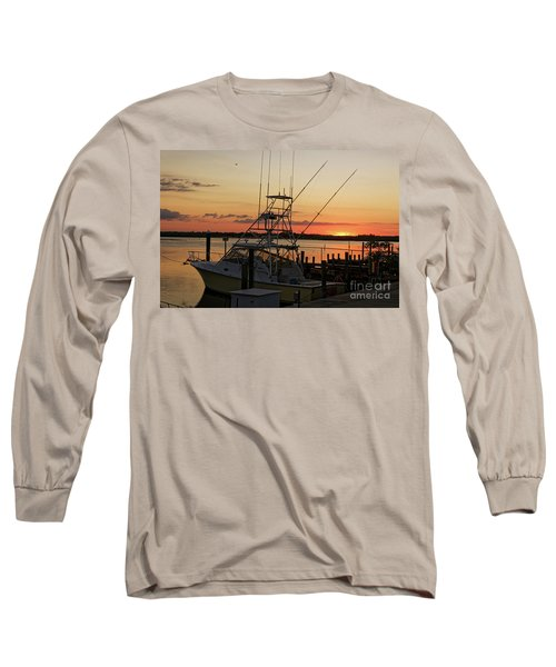 Ponce Inlet Sunset Long Sleeve T-Shirt