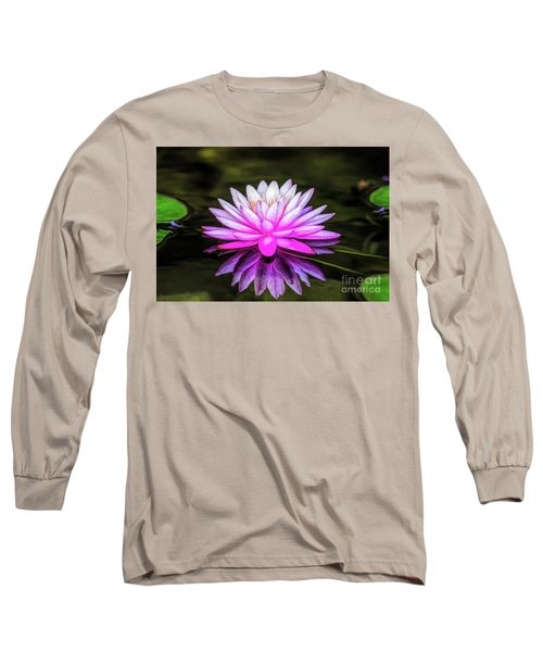 Pond Water Lily Long Sleeve T-Shirt