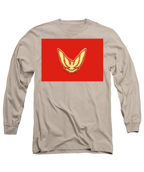 Pontiac Firebird Emblem Long Sleeve T-Shirt