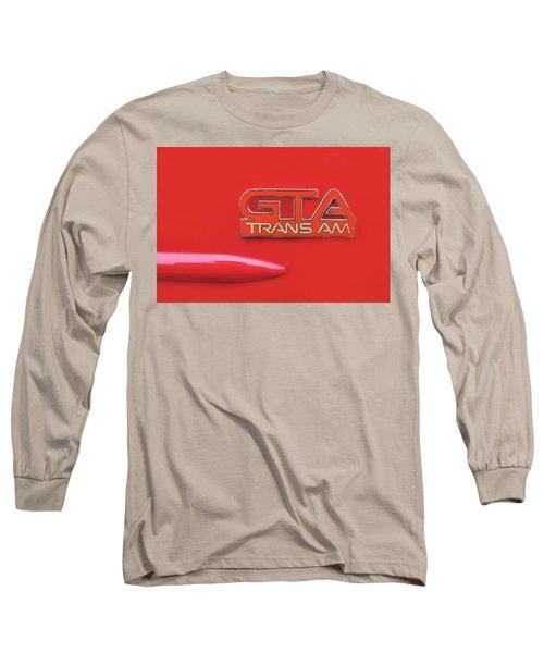 Pontiac Firebird Gta Trans Am Long Sleeve T-Shirt