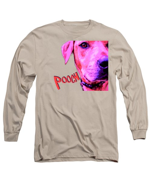 Pooch Long Sleeve T-Shirt by Mim White