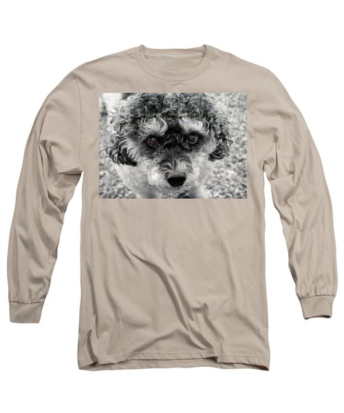 Poodle Eyes Long Sleeve T-Shirt