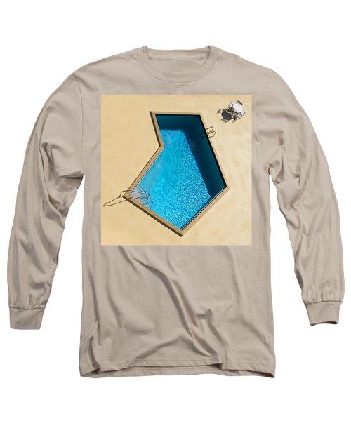 Pool Modern Long Sleeve T-Shirt