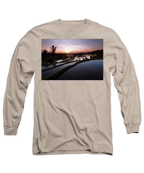 Pools Of Rice Long Sleeve T-Shirt