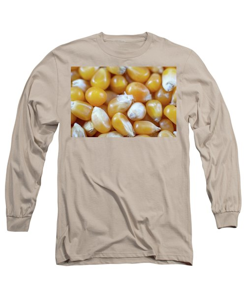 Popcorn Kernels Long Sleeve T-Shirt