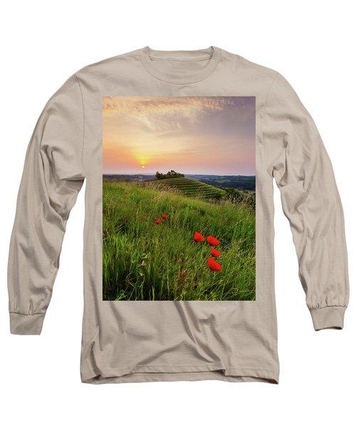 Poppies Burns Long Sleeve T-Shirt