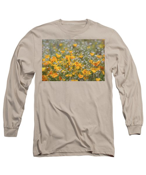Long Sleeve T-Shirt featuring the photograph Poppies Fields Forever  by Saija Lehtonen