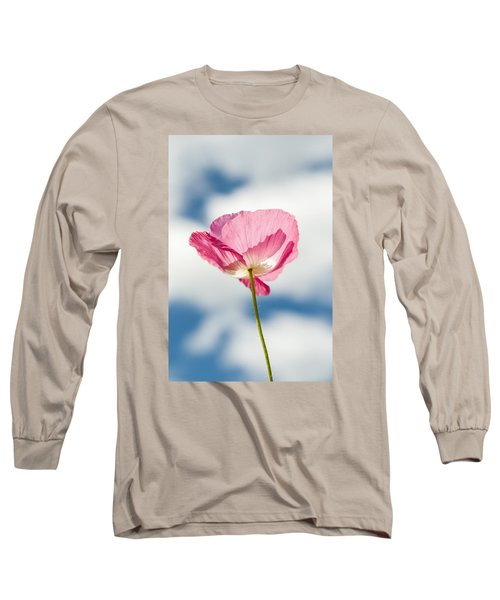 Poppy In The Clouds Long Sleeve T-Shirt