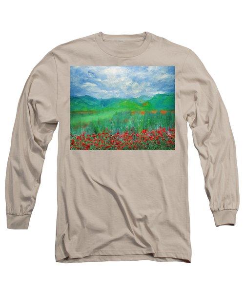 Poppy Meadows Long Sleeve T-Shirt