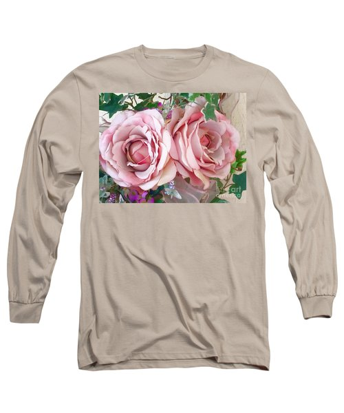 Porch Roses Long Sleeve T-Shirt
