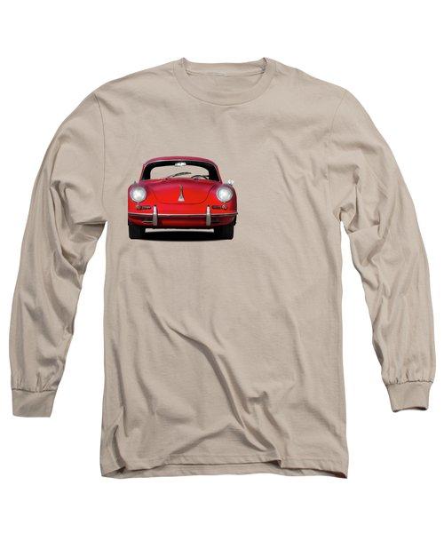 Porsche 356 Long Sleeve T-Shirt by Mark Rogan