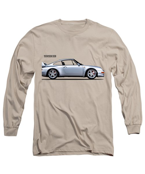 Porsche 993 Long Sleeve T-Shirt by Mark Rogan