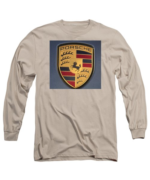 Porsche Emblem Long Sleeve T-Shirt