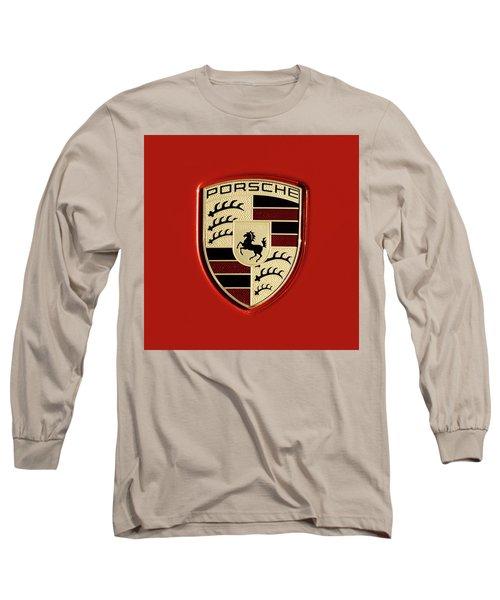 Porsche Power Red 111216 Long Sleeve T-Shirt
