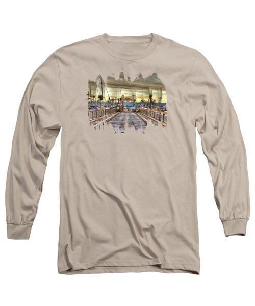 Port Of Newport - Dock 5 Long Sleeve T-Shirt