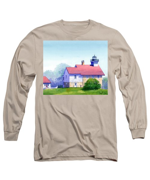 Port Washington Lighthouse Long Sleeve T-Shirt
