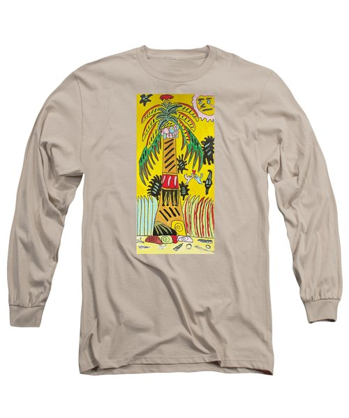 Long Sleeve T-Shirt featuring the painting Portal To Adventure by Artists With Autism Inc