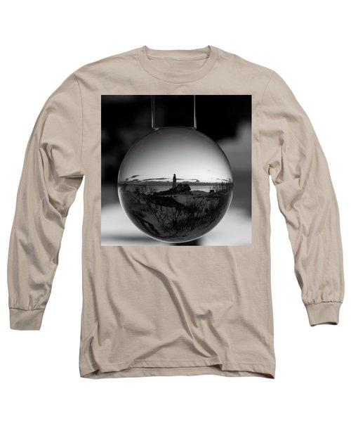 Portland Headlight Globe Long Sleeve T-Shirt