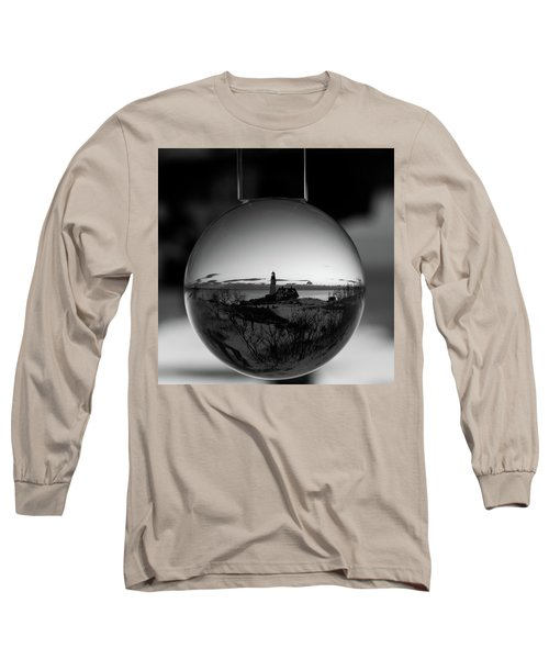Portland Headlight Globe Long Sleeve T-Shirt