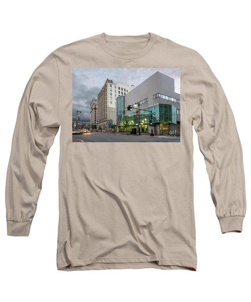 Portland Public Library, Portland, Maine #134785-87 Long Sleeve T-Shirt