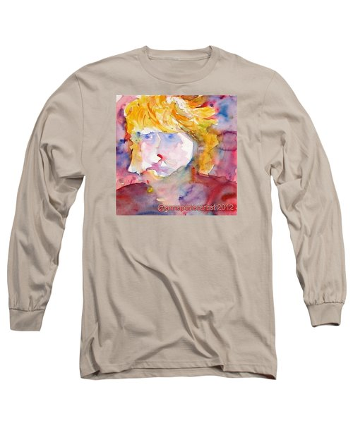 Portrait Of Graham Long Sleeve T-Shirt