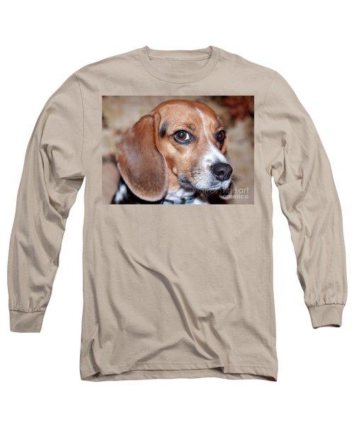 Portrait Of Kalee Long Sleeve T-Shirt