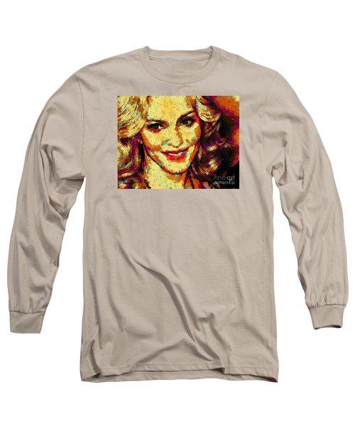 Portrait Of Madonna Long Sleeve T-Shirt