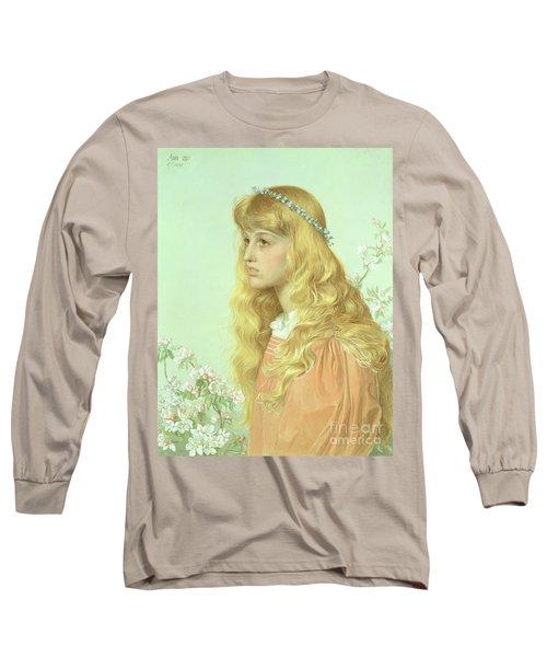Portrait Of Miss Adele Donaldson, 1897 Long Sleeve T-Shirt