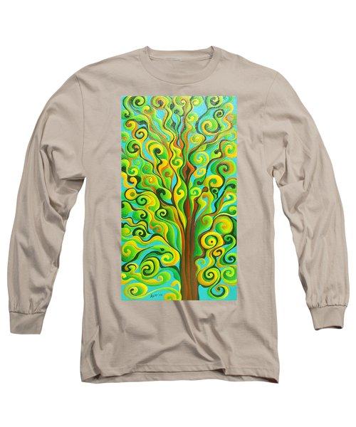 Positronic Spirit Tree Long Sleeve T-Shirt