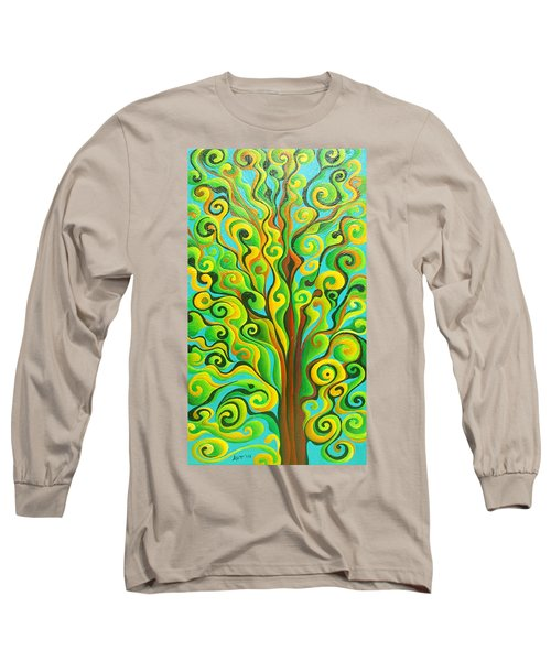 Positronic Spirit Tree Long Sleeve T-Shirt