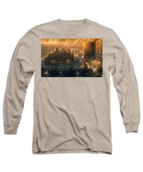 Post Apocalyptic Long Sleeve T-Shirt