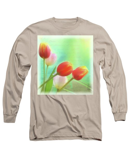 Postcards From The Edge Long Sleeve T-Shirt by Catherine Alfidi