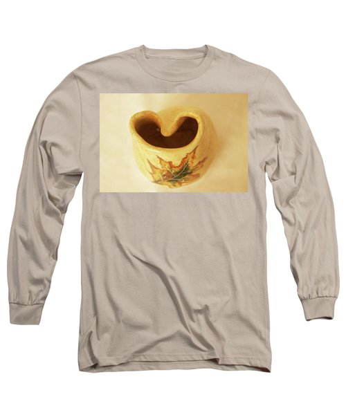 Long Sleeve T-Shirt featuring the photograph Pot On  A Leaf by Itzhak Richter