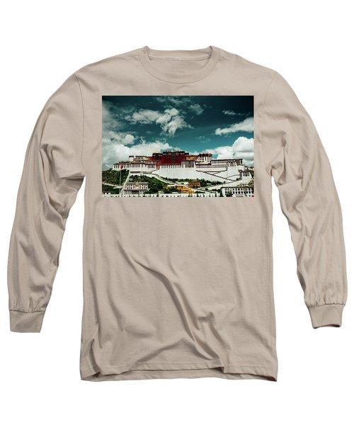 Potala Palace. Lhasa, Tibet. Artmif.lv Long Sleeve T-Shirt