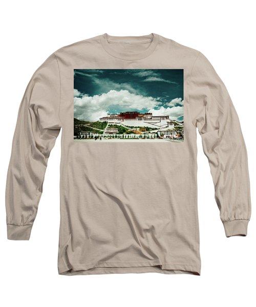 Potala Palace. Lhasa, Tibet. Dalai Lama. Yantra.lv Long Sleeve T-Shirt