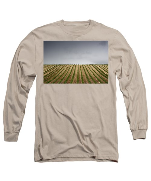 Potato Field Long Sleeve T-Shirt by John Short