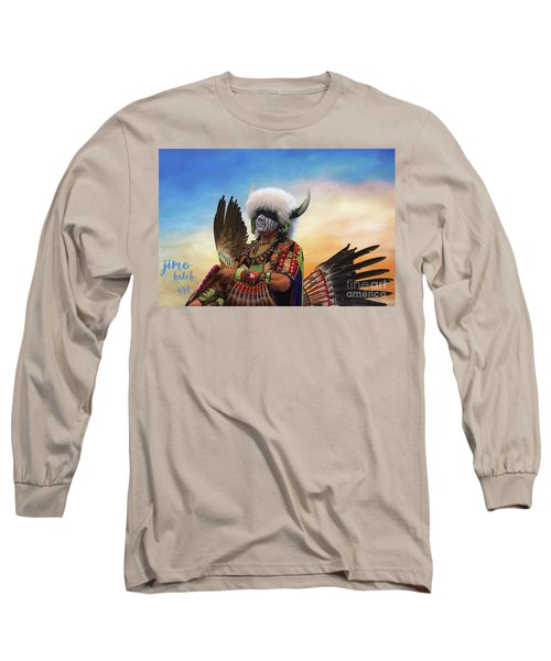 Long Sleeve T-Shirt featuring the photograph Pow Wow 3 by Jim  Hatch