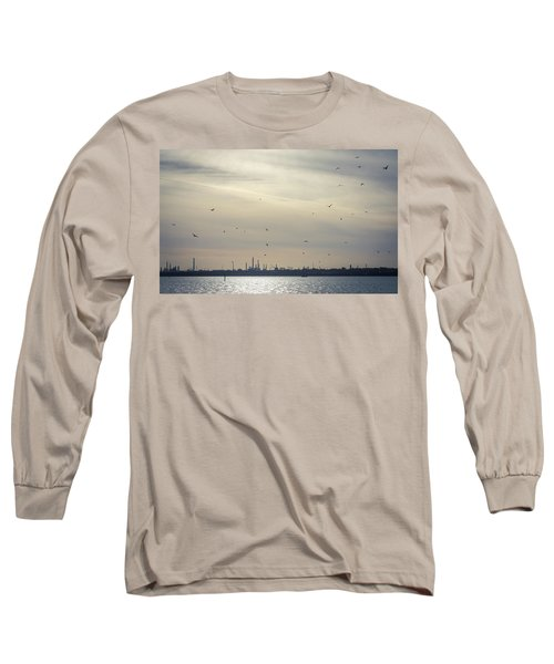 Power By The Sea Long Sleeve T-Shirt