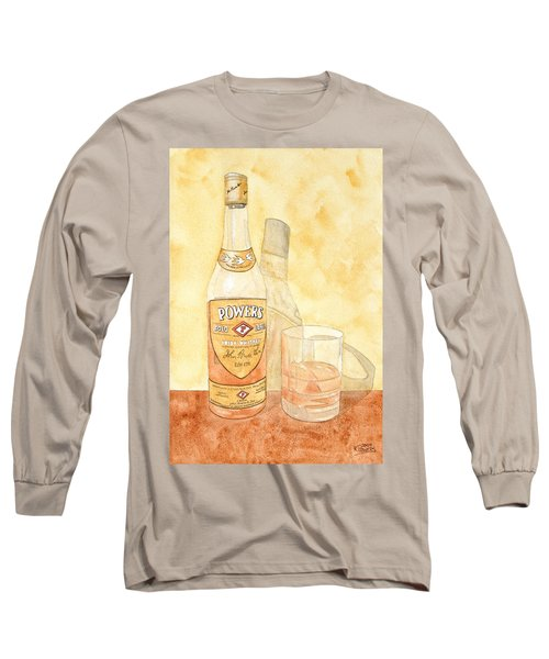 Powers Irish Whiskey Long Sleeve T-Shirt