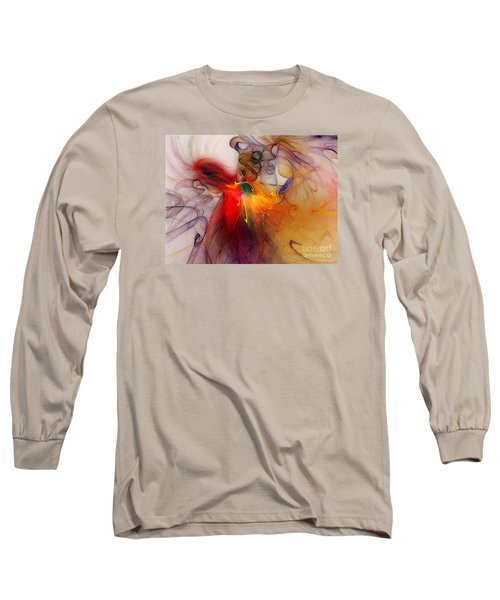 Powers Of Expression Long Sleeve T-Shirt by Karin Kuhlmann