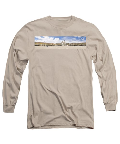 Praca Do Comercio, The Square Of Commerce Long Sleeve T-Shirt