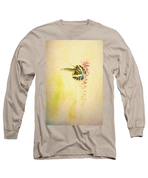 Prairie Butterfly 3 Long Sleeve T-Shirt