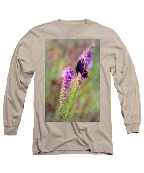 Prairie Butterfly Long Sleeve T-Shirt